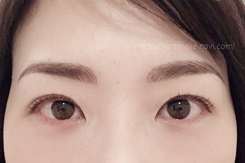 アートメイクギャラリー眉ダウンタイム3日目