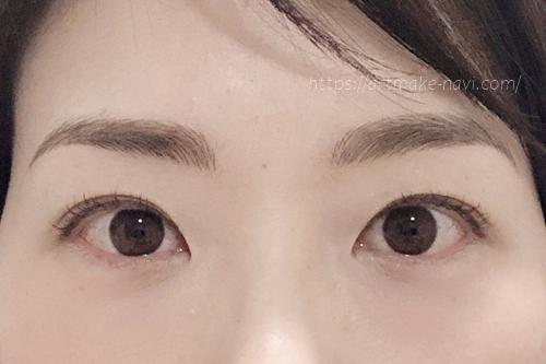 アートメイクギャラリー眉ダウンタイム5日目