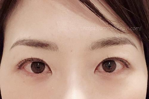 アートメイクギャラリー眉ダウンタイム7日目